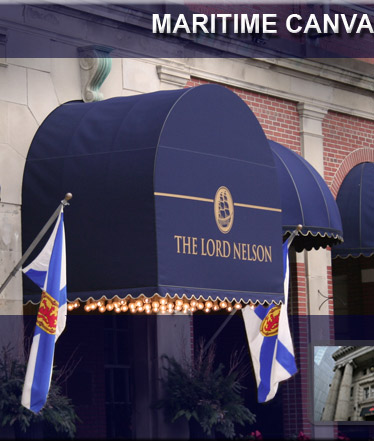 The Lord Nelson Awning